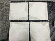 Plastered tiles